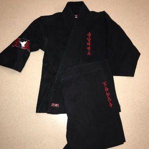 ATA Uniform Black Size 00